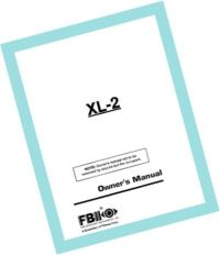 Get help finding an XL-2 Manual