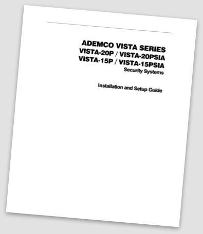 Ademco Manuals, Ademco installation manual
