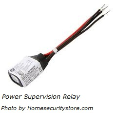 Power supervision relay for smoke alarms