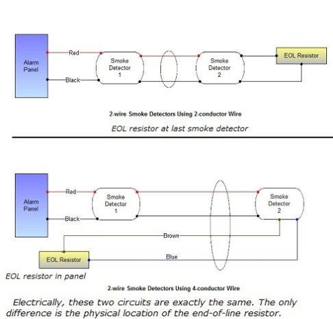 2 Wire Smoke Detector Diagram