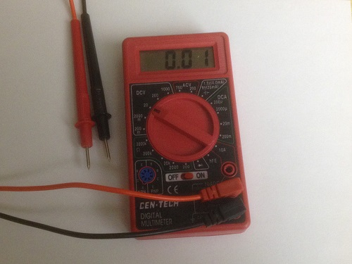 Digital Multimeter from Harbor Freight