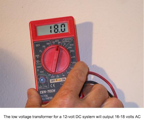 Testing a plug-in transformer