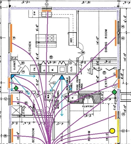 burglar alarm wiring for securing doors rh home security systems answers com Relay Wiring Diagram Contact Relay Wiring Diagram