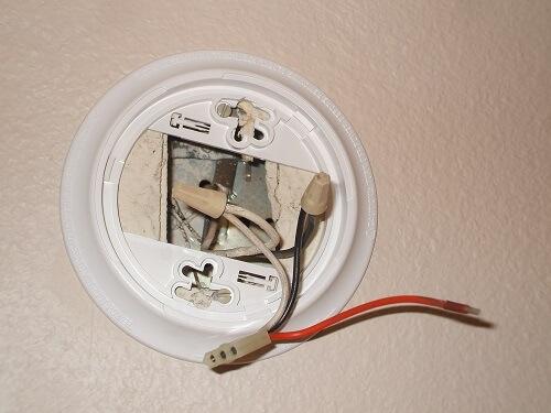 Replacing Electric Smoke Detectors