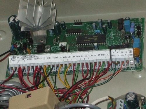 DSC Power 832 Terminals