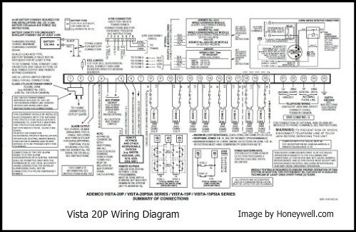 Ademco Manuals Vista 20P Wiring Diagram