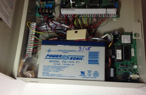 Adt alarm battery replacement for Look security systems