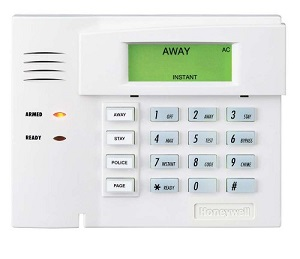 Ademco 6150 keypad with fixed display