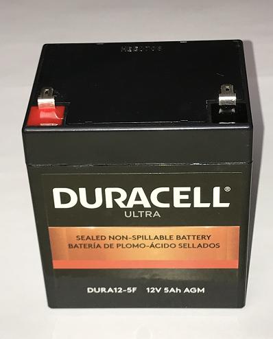 Alarm System Battery - 12-Volt, 5AH Sealed Lead Acid Battery
