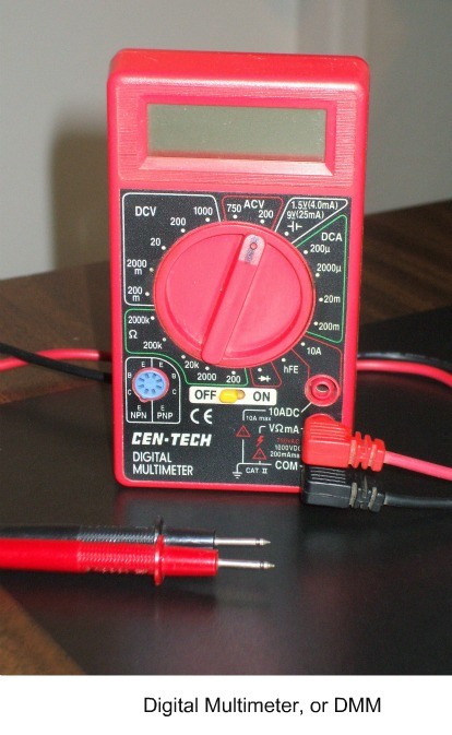 Testing a Home Alarm panel battery