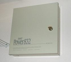Alarm system wiring - Main alarm panel