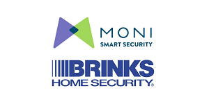 MONI Smart Security/Brinks Logo