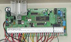 DSC security system main board