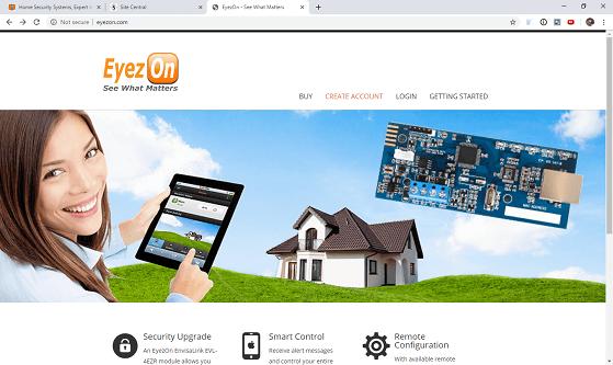 EyezOn Home Page