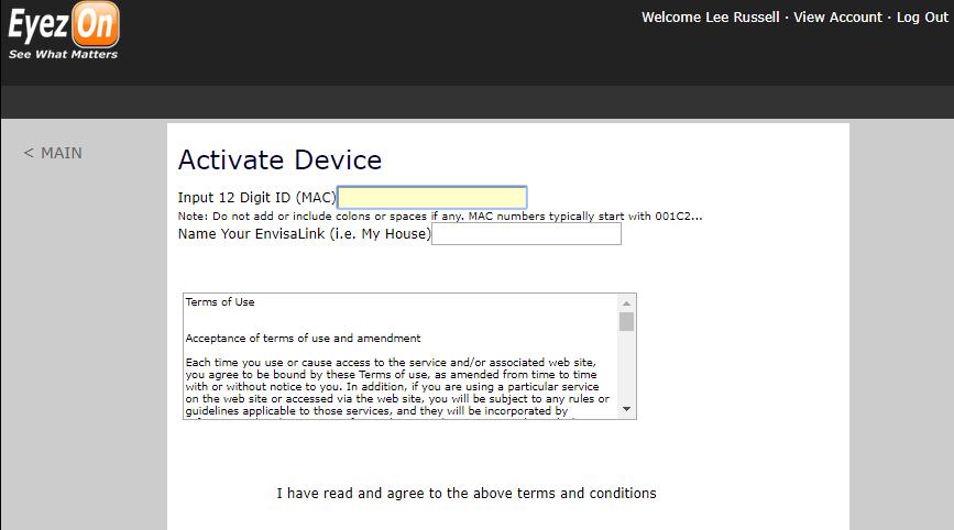 Adding Device Info