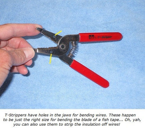 Ideal T-stripper tool