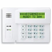Hardwired Home Security Systems Keypad