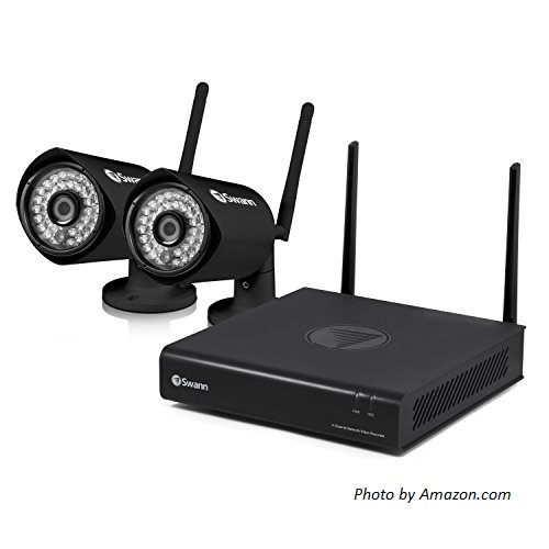 Wireless camera systems - Swann Wireless Base Unit with 2 Cameras at Amazon.com
