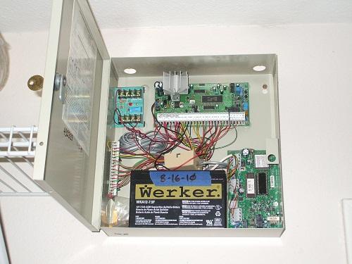 Custom Security System Wiring