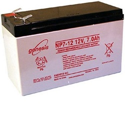 Replacing an alarm system battery