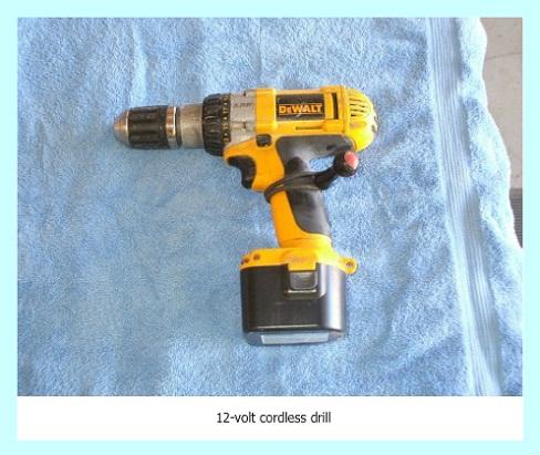 Dewalt cordless drill 12-volt