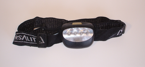 Versalite 4 LED Headband Flashlight