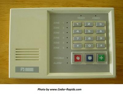 Moose Security System Z900R Keypad