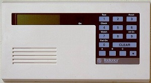 Radionics Home Security - D223 Keypad with Clear Key for Use with D2212 Systems