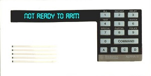 Radionics Security Systems - D1252 Alpha Keypad
