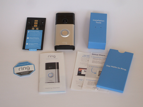 Ring Video Doorbell Review - What's included