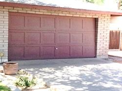 Sentrol garage door sensor not for use on one-piece doors