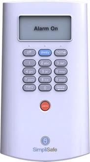 Simplisafe Keypad