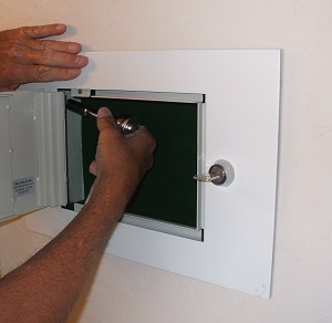Wall Safes For Home small wall safe installation