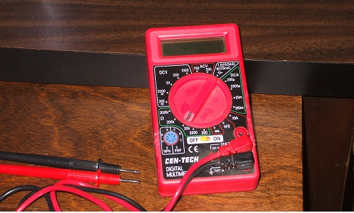 Digital Multimeter, or DM