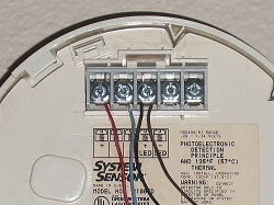 troubleshooting smoke alarm wiring at the detectors system sensor smoke detector wiring