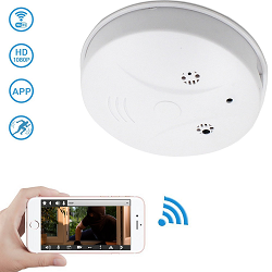 Smoke Detector Spy Camera with Motion Detection
