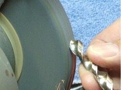 Hand Sharpen Drill Bits