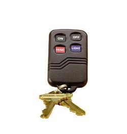Wireless Burglar Alarm Systems - Wireless Keyfob Remote