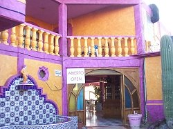 Entrance to El Capitan Restaurant in Rocky Point, Mexico