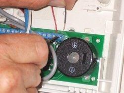 AC terminals - Ademco alarm lynx security master code