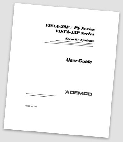 Ademco Manuals, Ademco security user manuals