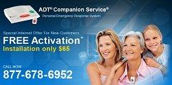 ADT Medical Alert System Banner
