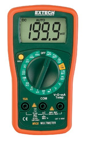 Extech MN35 Digital Multimeter at Amazon.com
