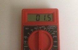Meter showing a good loop