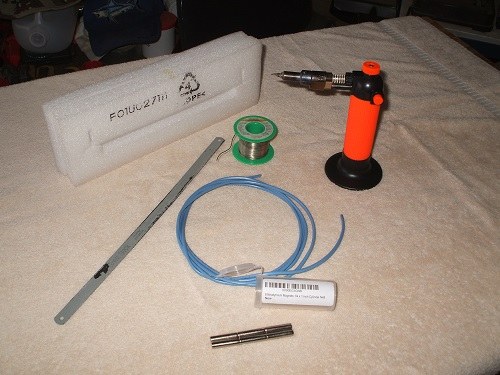 Alarm programming quick keypad connector parts