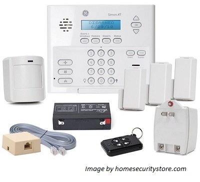 GE Wireless Alarm System Simon XT