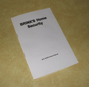 Brinks Home Alarm Manual