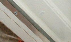 Magnetic door switches for top of door