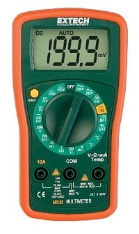 Extech MN35 Digital Mini Multimeter at Amazon.com