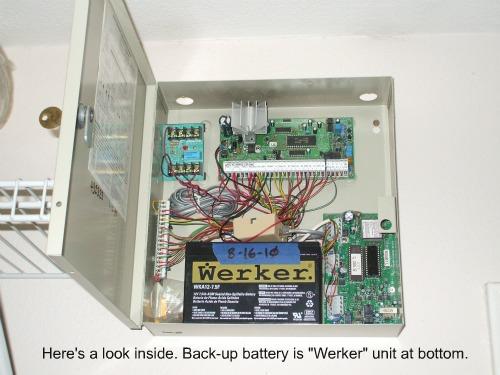 DSC PC5010 wiring